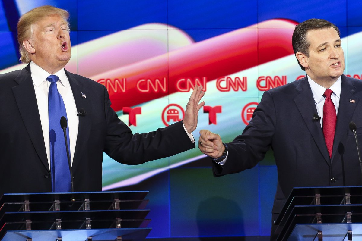 Trump's new pet name Ted Cruz is 'Beautiful Ted' https://t.co/dFyune1uYI