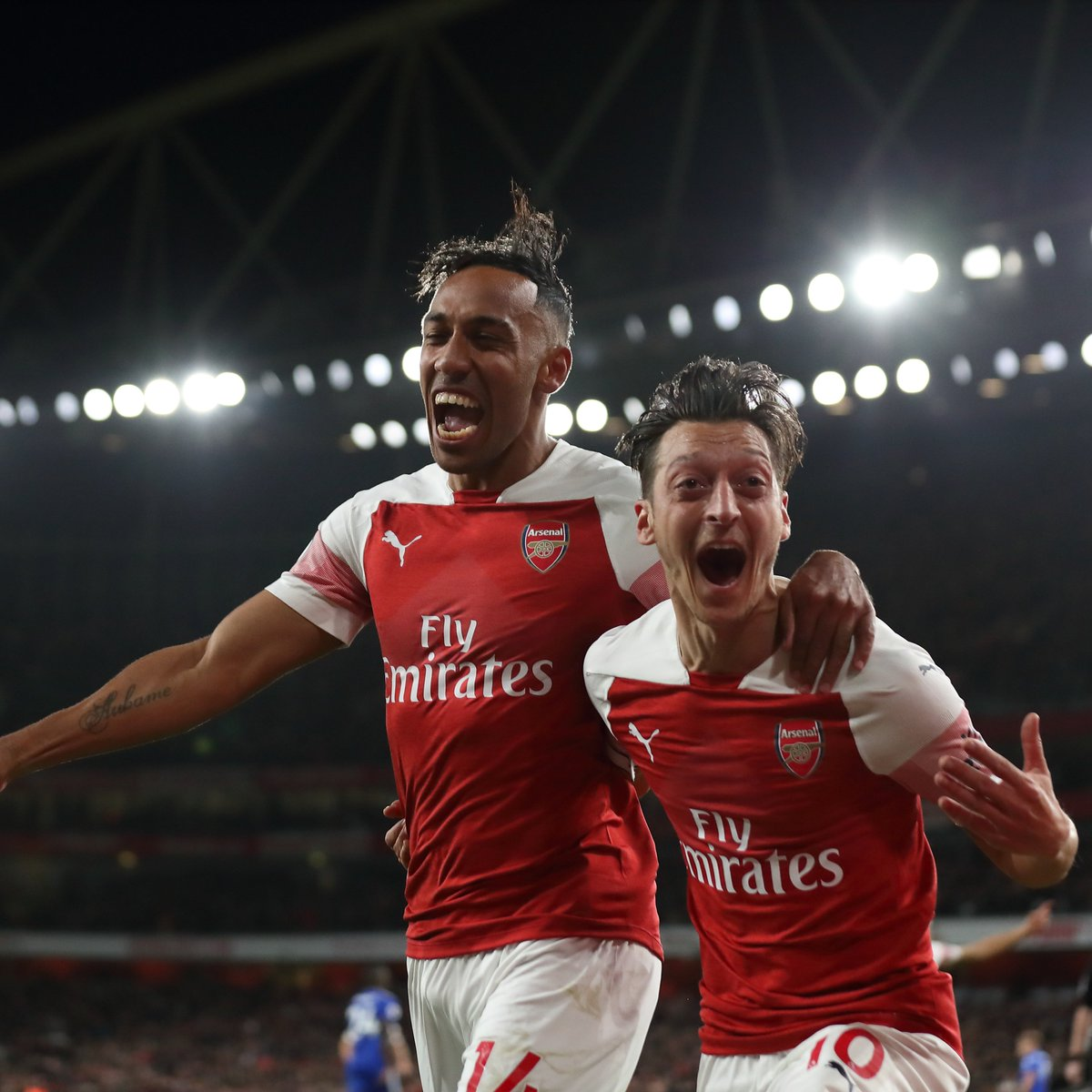 What Arsenal Midfielder, Mesut Ozil, Said After Equalizing Against Leicester Would Melt Your Heart