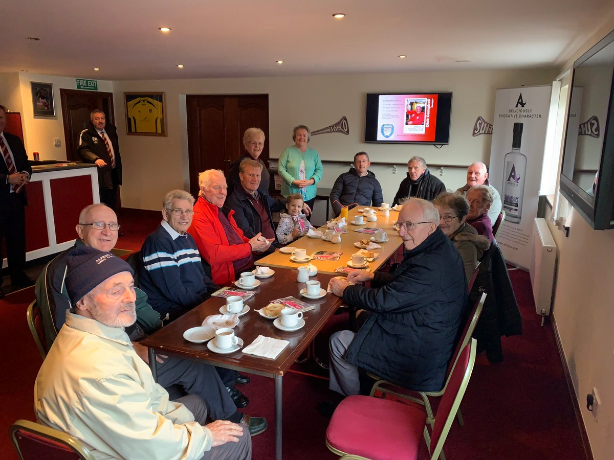 Arbroath Alzheimer Scotlands Football Memory Club On Saturday we welcomed some very special guests back to Gayfield and a presentation took place of our Football Memory Box which is in Memory of the late John Ritchie and kindly sponsored by @avenuecare arbroathfc.co.uk/2018/10/arbroa…