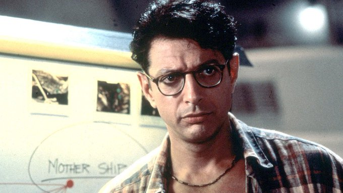 Happy Birthday Jeff Goldblum My mother\s celebrity crush!!! She always thought he was very handsome!!!