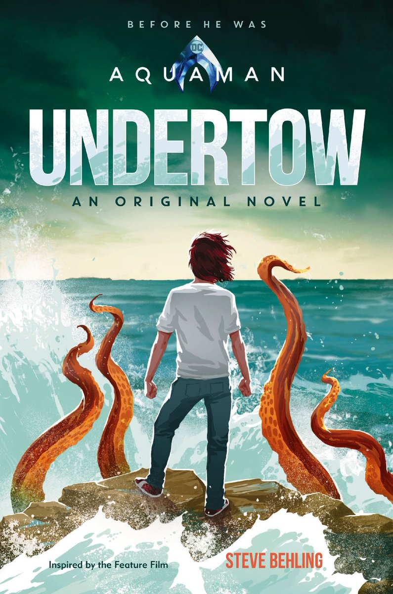 Excerpt and preview art for UNDERTOW via @SyfyWire! syfy.com/syfywire/aquam… #Aquaman
