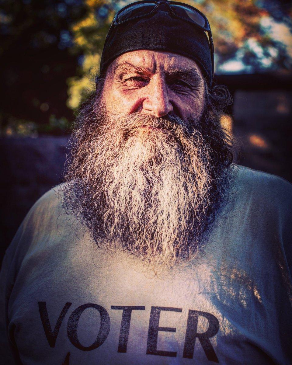 Voter. #USA #MidtermElections2018 📸 by #barbaradavidson