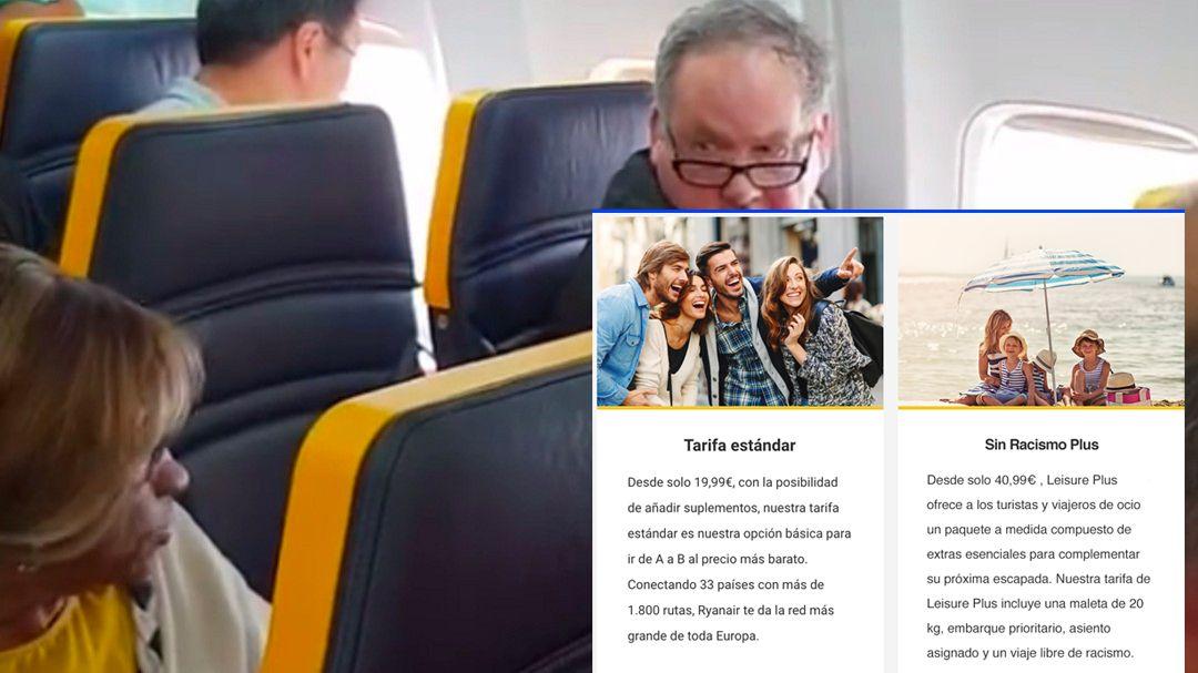 """Ryanair sobre la mujer insultada en uno de sus vuelos: """"No pagó el suplemento de vuelo sin racismo"""" https://t.co/1JQYD83hRz"""