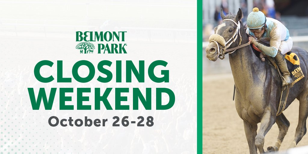 The Belmont Fall Championship meet is coming to a close - dont wait! Come out to #BeautifulBelmont for a visit: bit.ly/2ySXh31