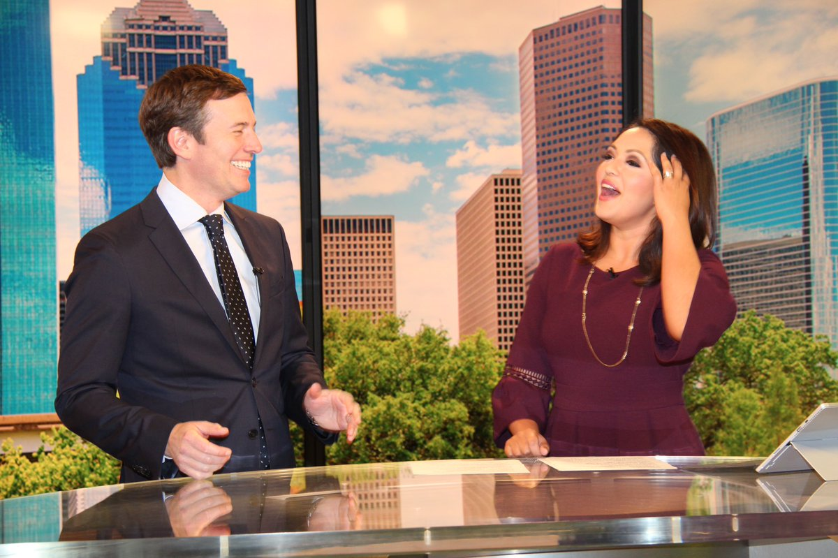 .@jeffglor doing a live interview today on #KHOU 11 News with @RekhaKHOU. @CBSEveningNews will air from Houston tonight at 5:30 p.m. Thanks for stopping by Jeff! #HTownRush #CBSNews #TEGNA