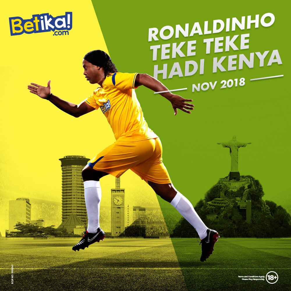 Great news Sports fans! @10Ronaldinho one of the World's best