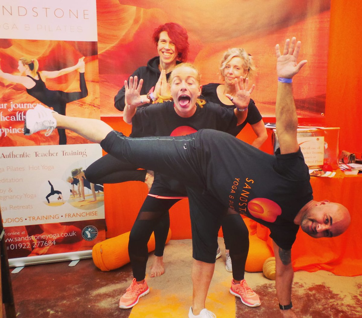 Sandstone Yoga On Twitter Good Evening Sutcolhour Hope You All Had A Good Week We Had A Fabulous Weekend At The Omyogashow In London Talked To Some Fantastic People Taught And Practised
