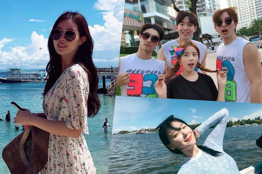 "Cast Of ""My ID Is Gangnam Beauty"" Share Fun Photos From Reward Vacation https://t.co/04ZzrdaLI3 https://t.co/tg6OvrKq9M"