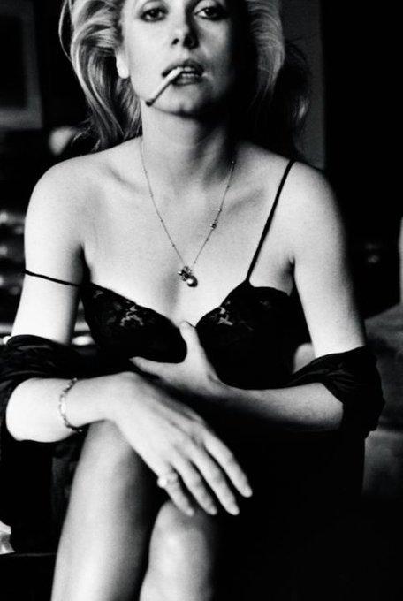 Happy Birthday to goddess Catherine Deneuve. Forever a queen.