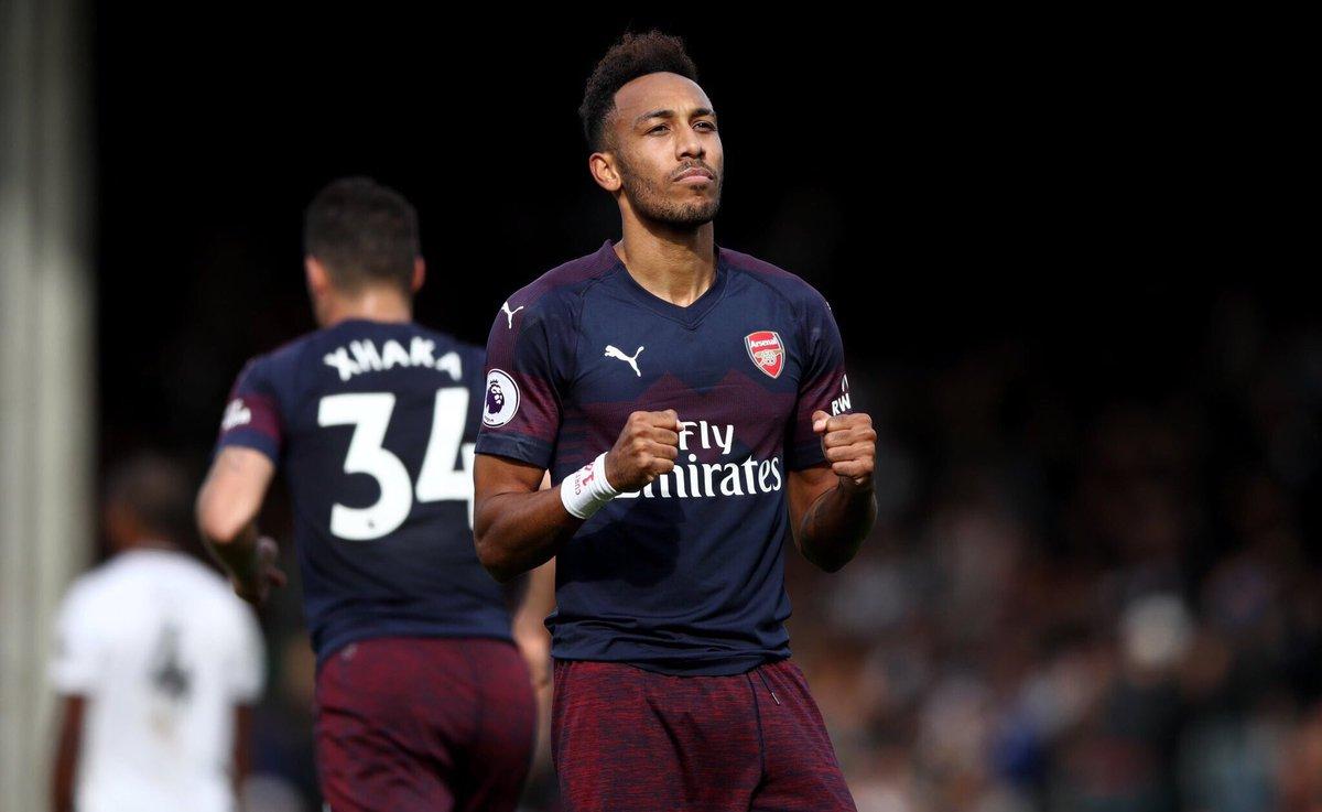 PL strikers shot conversion since Pierre-Emerick Aubameyang's debut in February: Aubameyang 30% (14 goals) Lacazette 28% (9 goals) Vardy 26% (12 goals) Lukaku 23% (9 goals) Hazard 22% (11 goals) Salah 20% (17 goals) Kane 20% (14 goals) Aguero 17% (10 goals) [Sky] #afc