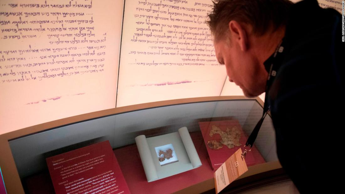 The Museum of the Bible in Washington says five of its most valuable artifacts -- thought to be parts of the historic Dead Sea Scrolls -- are fake and will not be displayed anymore https://t.co/FOKYfPXvA7