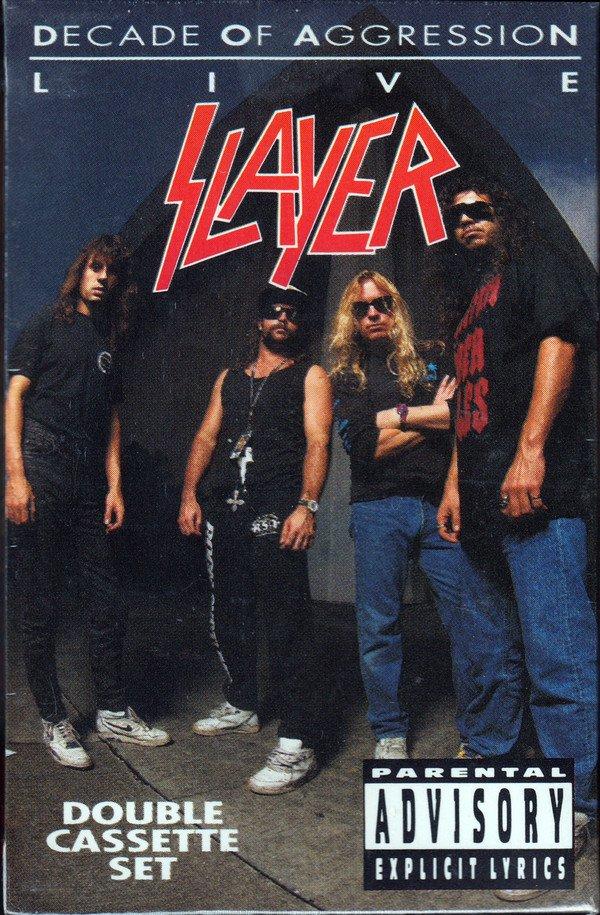 Slayer Decade Of Aggression Album Cover
