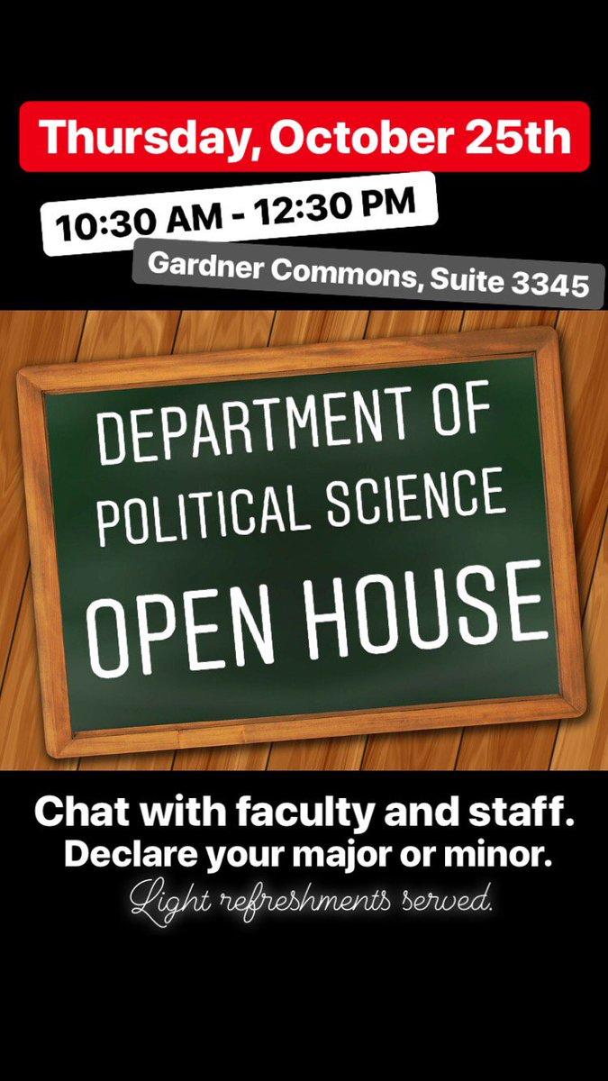 University of Utah Political Science on Twitter: