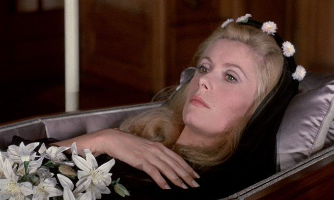 Happy 75th (can that be right?) Birthday, Catherine Deneuve...