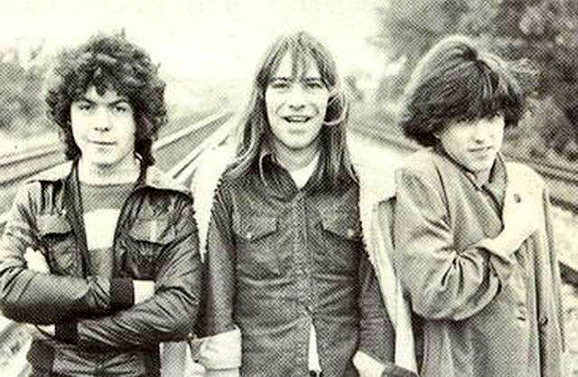 The Cure as teenagers in 1978