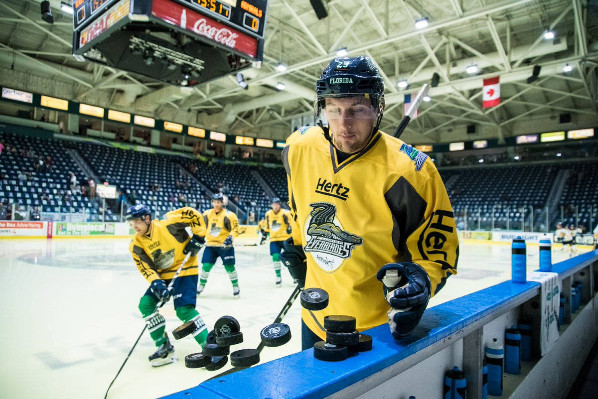 Everblades Trying To Make Yellow Ice A Good Thing At Hertz Arena
