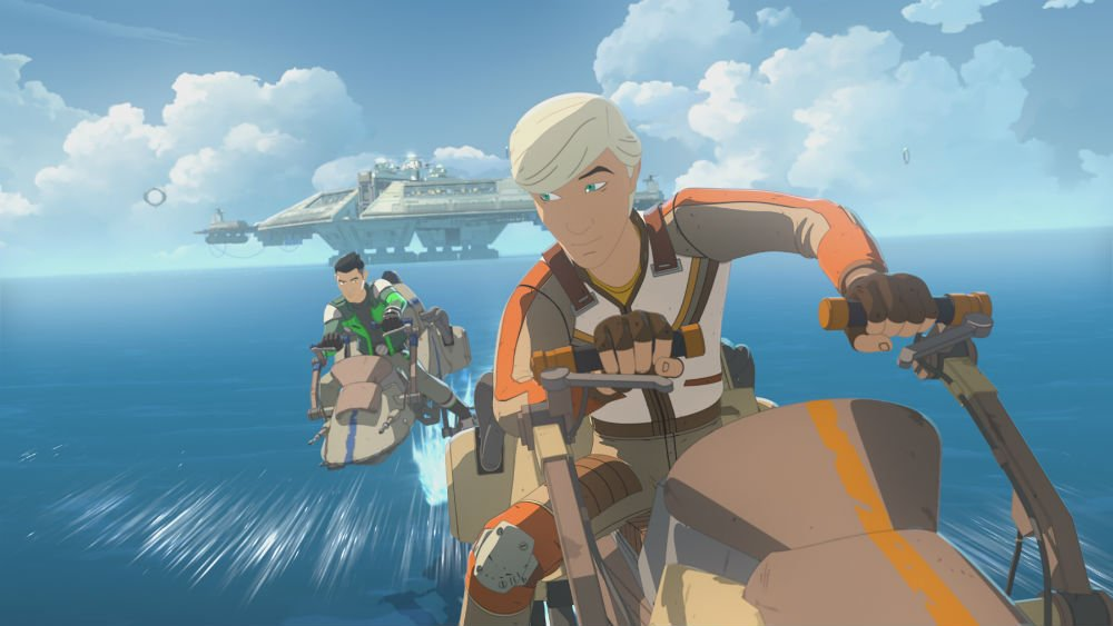 The latest Star Wars Resistance was even better if you've seen Solo https://t.co/BiiqZL63HL
