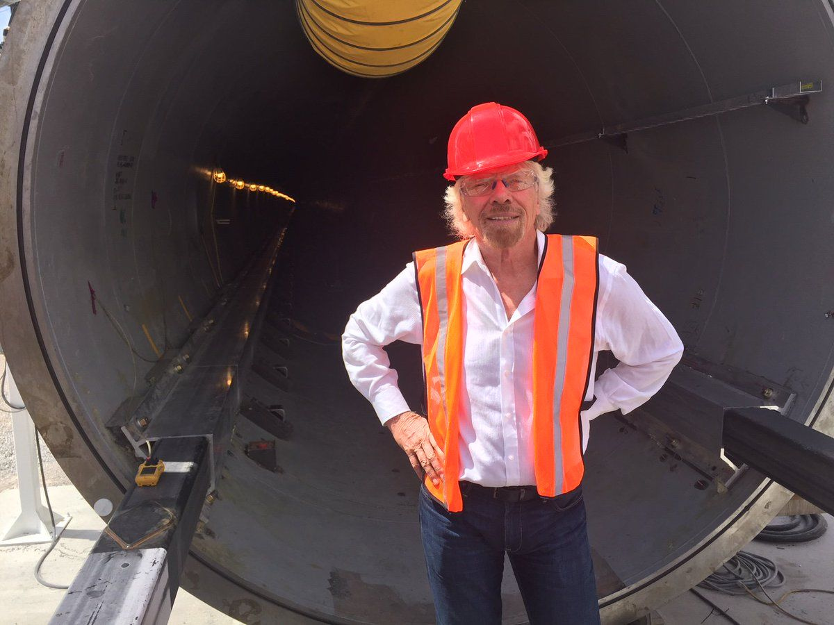 Richard Branson reportedly quits as chairman of Virgin Hyperloop One https://t.co/OQbgyuYx7n