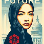Image for the Tweet beginning: Shepard Fairey's new poster of