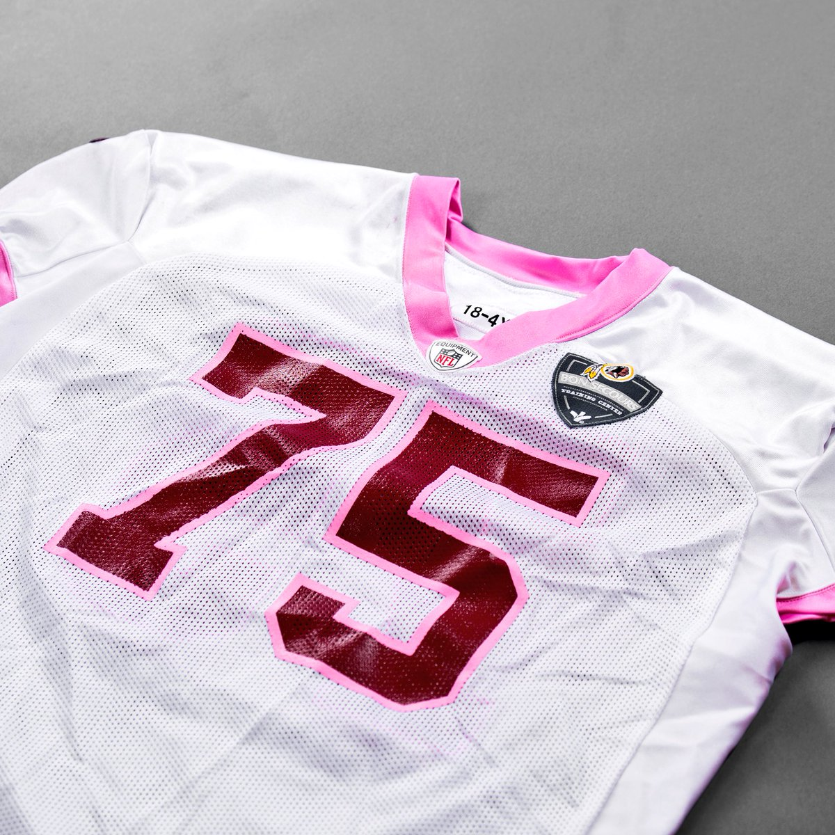 ...  ThinkPink 20th Anniversary Auction! 🎀 Head over to  https   t.co uQYyAayvBU to place bids on items like this Practice-Worn Pink  Jersey autographed ... 86ad76c53