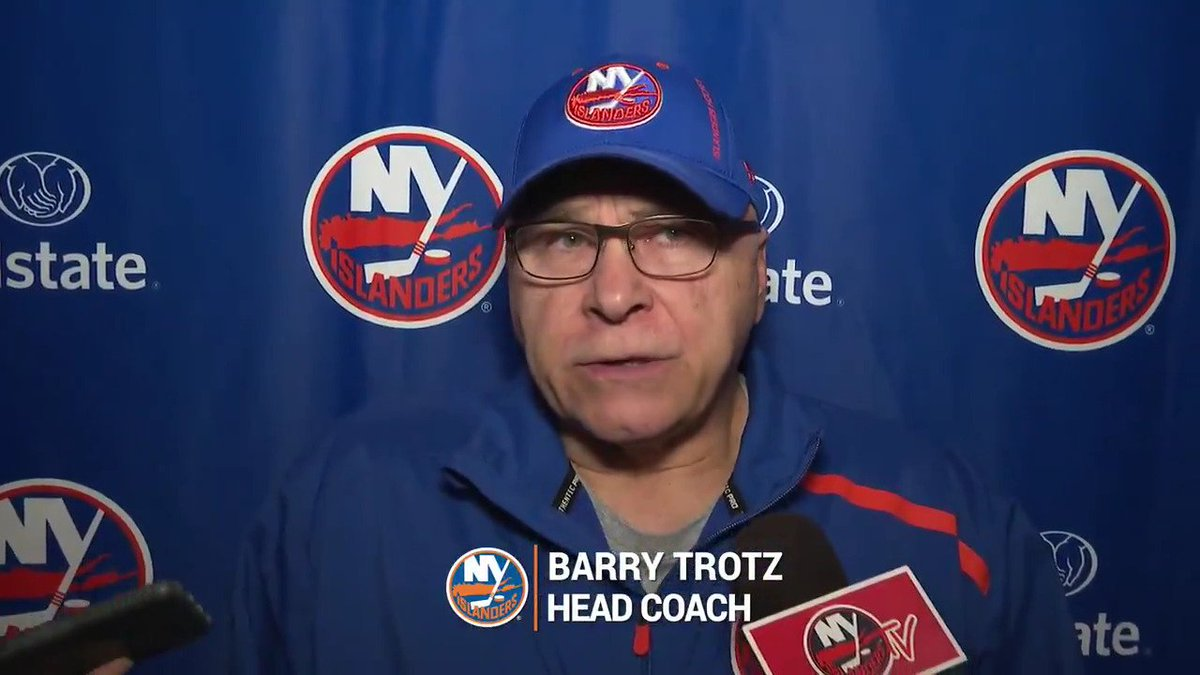 Barry Trotz Relects On Charles Wang's Passing
