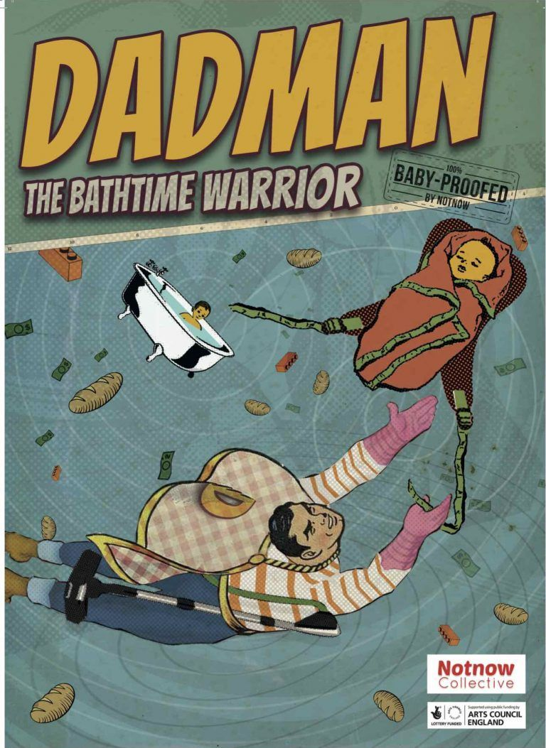 Come on #Doncaster #parents, #DadMan is a show from about bath-time chaos, flexi-hours, soft play areas and sex! A must see for all parents and you get a ticket for only £5 when quoting MUMBLER! See it at @castindoncaster castindoncaster.com/book-tickets/?…