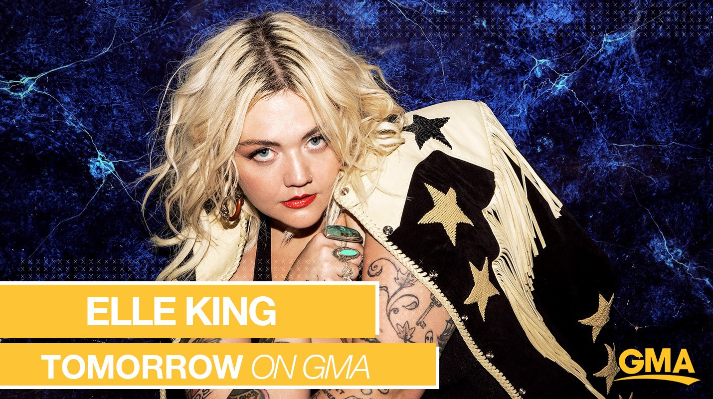 TOMORROW MORNING ON @GMA: @ElleKingMusic performs LIVE right here in Times Square! https://t.co/52VsueBAKb