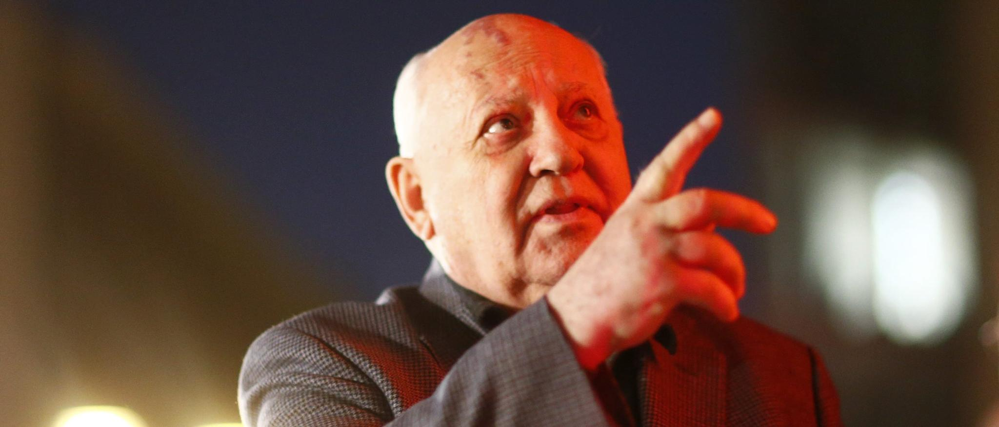 Gorbachev: Trump's Proposal To Exit From Nuke Treaty Not The Work Of A 'Great Mind' https://t.co/0683Y1gAjX https://t.co/wqBLrRwV5n