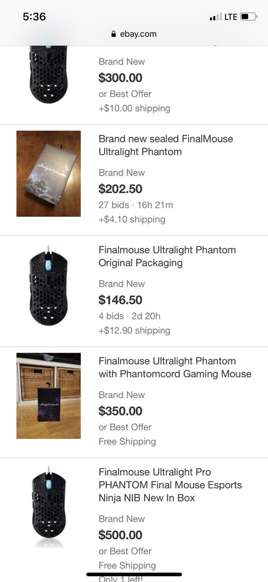 Finalmouse on Twitter: