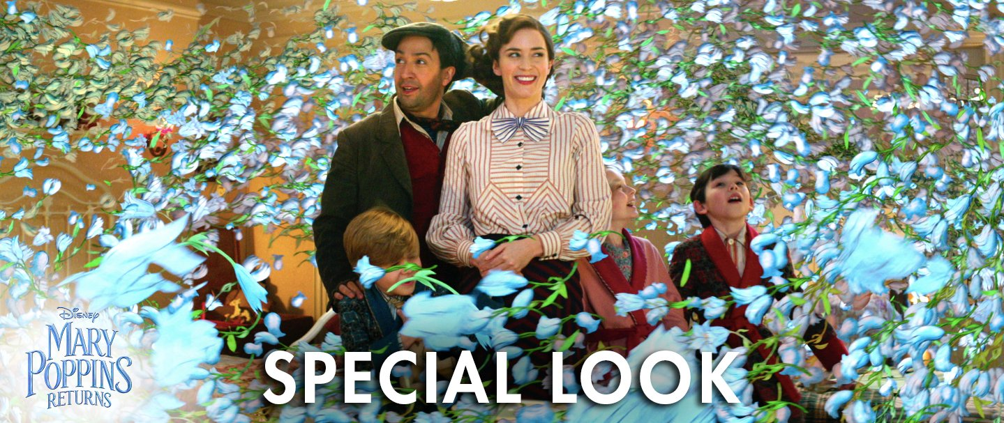 Watch a new special look at the music and magic of Mary Poppins Returns. https://t.co/CznXswZnNg