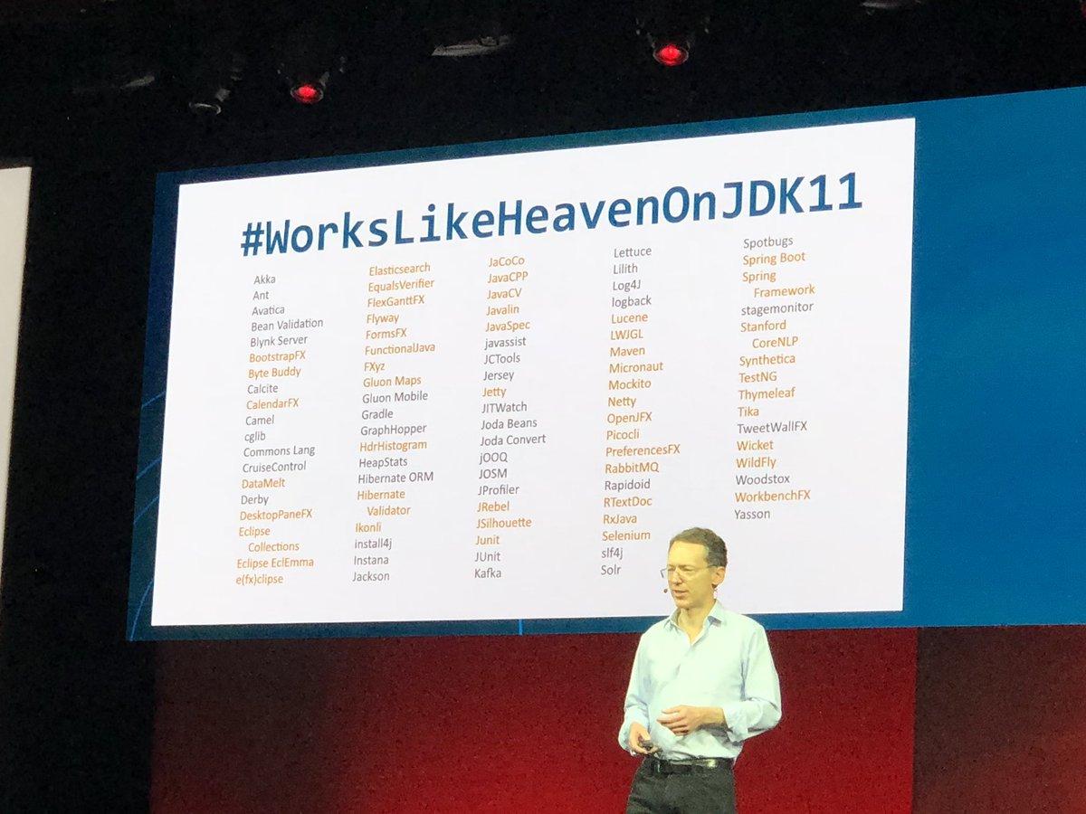 workslikeheavenonjdk11 hashtag on Twitter