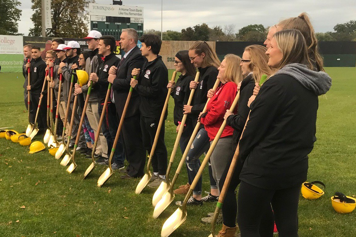 Groundbreaking for Falcon Park project held on Monday night