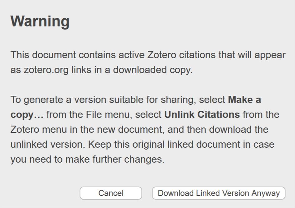 Zotero On Twitter Zotero S Powerful Word Processor Integration Is