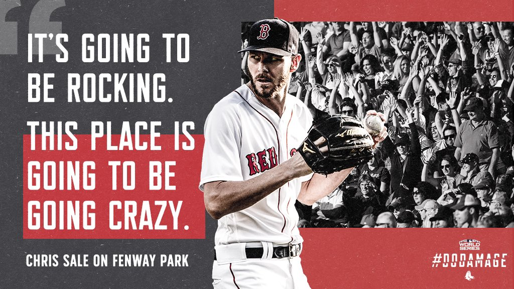 Totally non-biased opinion here, but Fenway will be the best place on earth tomorrow night.