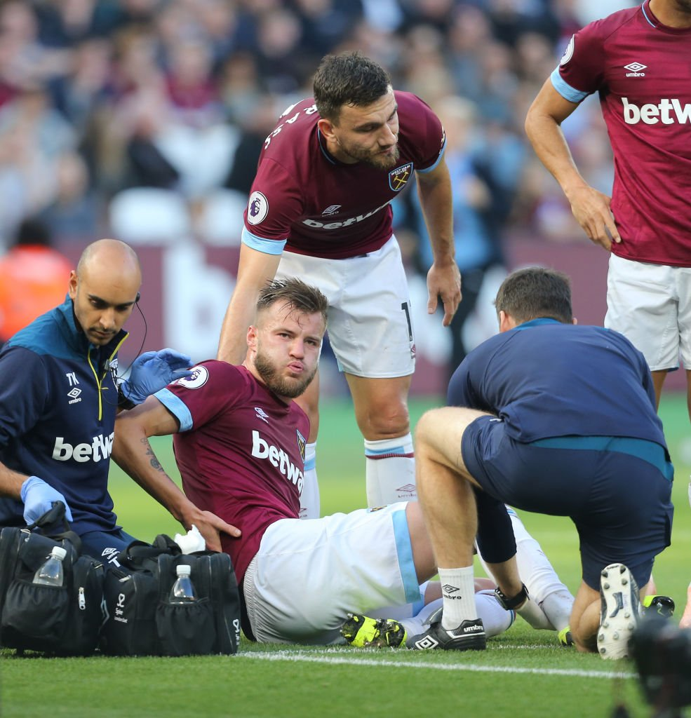 West Ham winger Andriy Yarmolenko is expected to be out for six months after having surgery on a torn Achilles. Read more: bbc.in/2EF1DAN