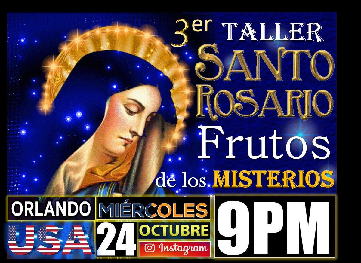 Los Invitamos A Participar Del Tercer Taller Sobre El Santo Rosario Este Miercoles 24 De