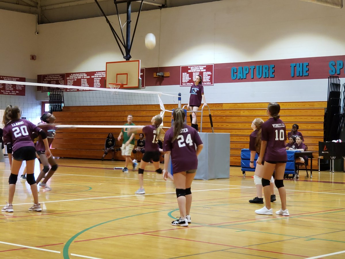 test Twitter Media - #SOMS Volleyball  vs. St. James. 22-20 right now. https://t.co/2xe1cCX9C6