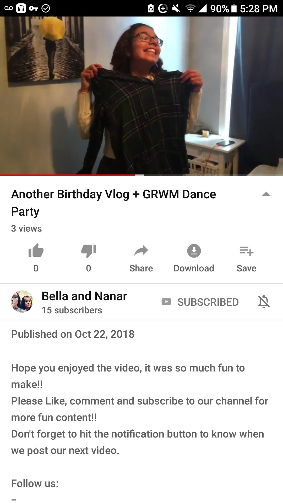 Bella And Nanar On Twitter Our New Videos Up Please Go Show It Some Love And Psa My Fav Youtubers The Ace Family Had Their Princess On My Birthday And I Was Find the best free dancing videos. twitter