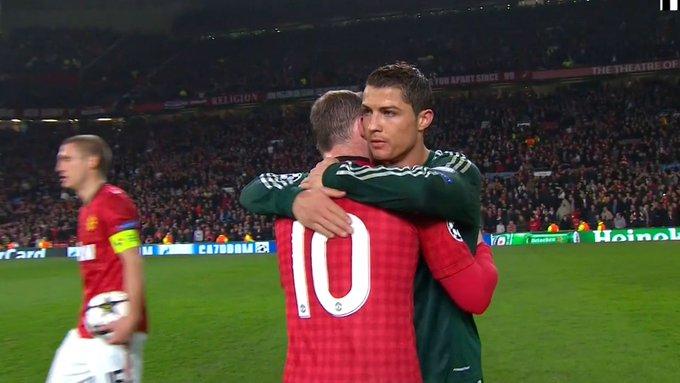 A última vez que Cristiano Ronaldo enfrentou o Manchester United pela UCL Photo