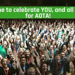Image for the Tweet beginning: AOTA members can earn 10