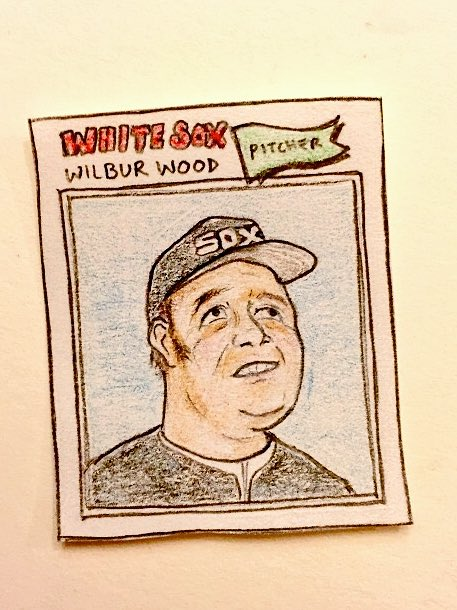 Happy birthday, Wilbur Wood!