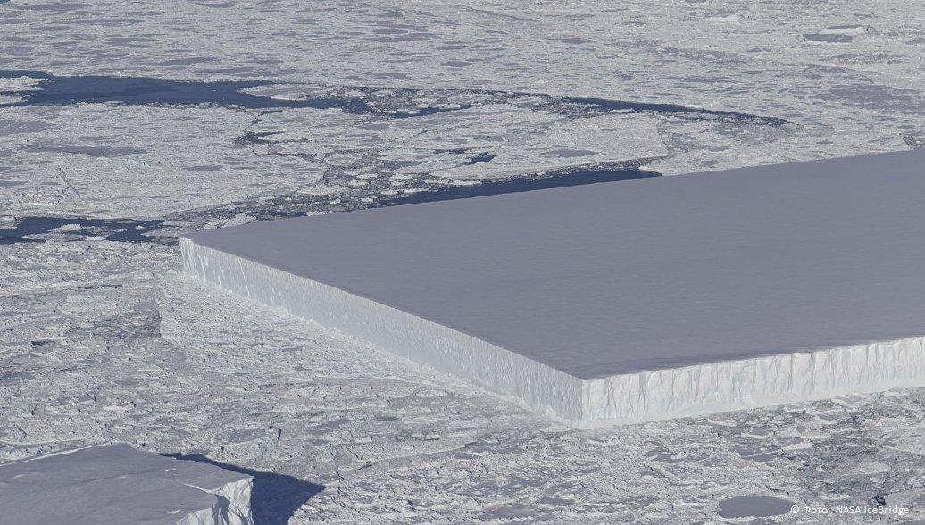 В Антарктиде ученые наткнулись на айсберг правильной квадратной формы  https://t.co/QOxrB2dsdR