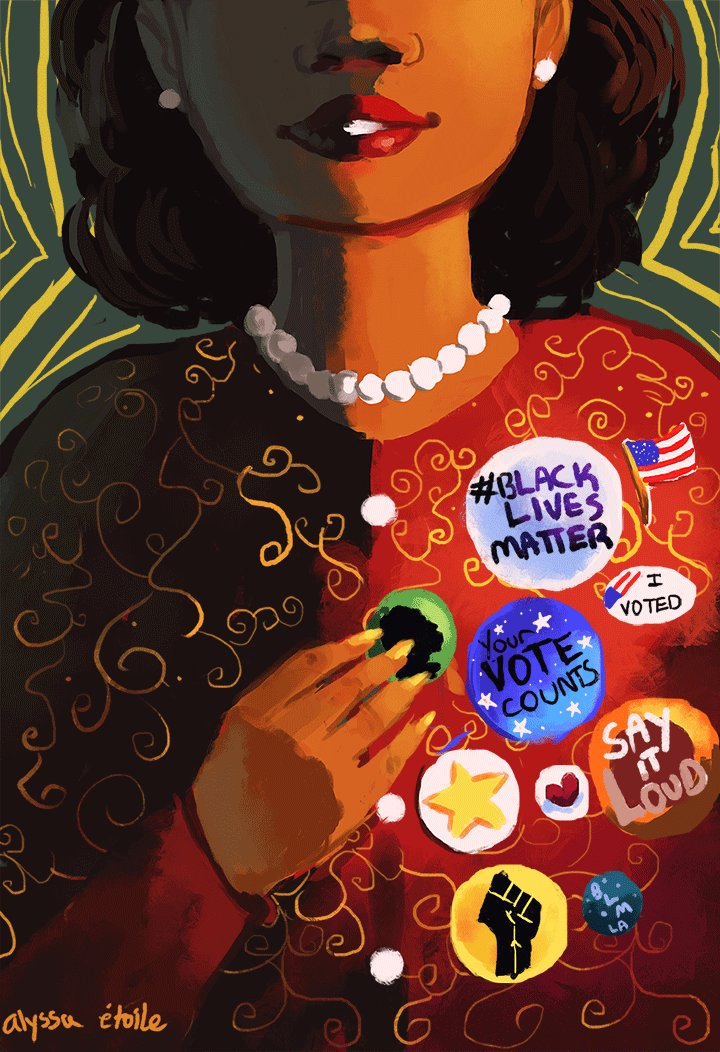 Your vote counts. Its time to end @GOP control of the House & protect Americas vulnerable communities from @realdonaldtrump. HERE: moveon.org/resistandwin Beautiful art via: @alyssaosasere