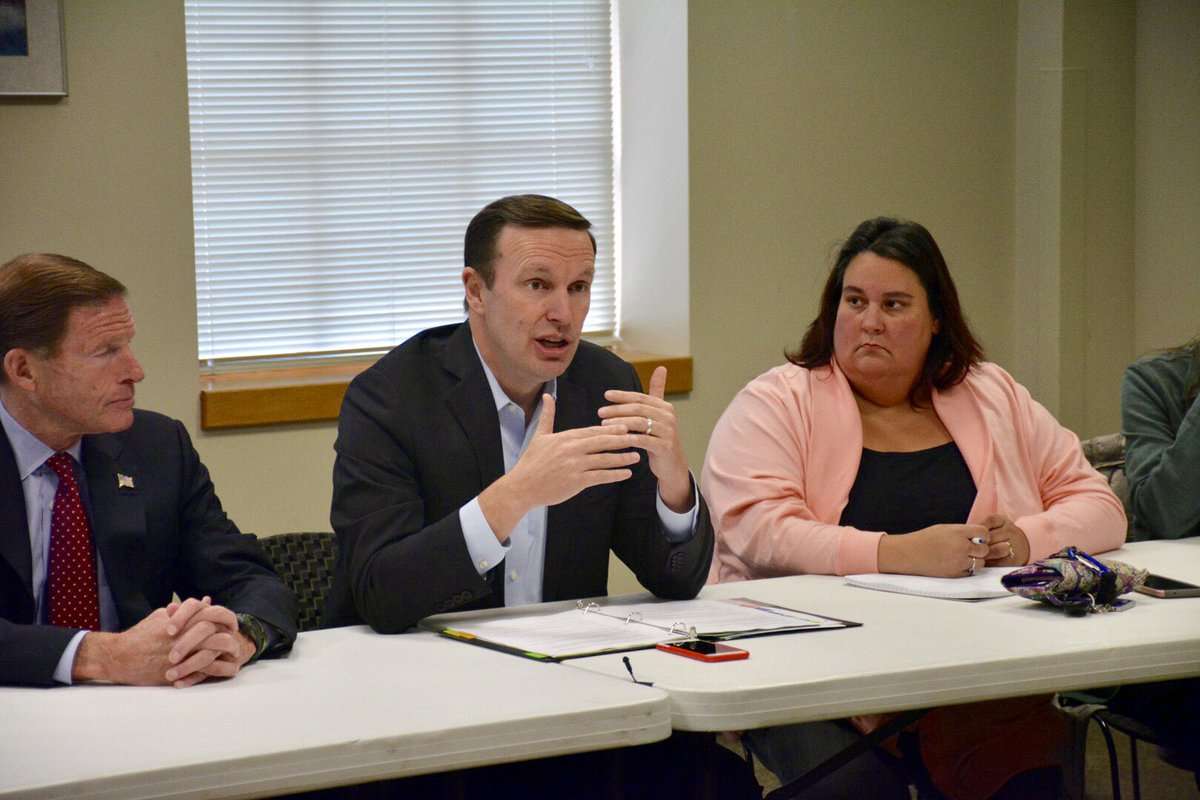 Stopped by @WindhamHosp to talk with doctors, nurses and community members about the opioid crisis, mental health care and what we can be doing in Washington to help support people working on the ground in Connecticut.