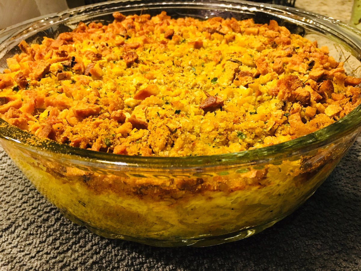 Squash casserole one of my favorite to cook yummy 😋 https://t.co/3DcIgwo93U