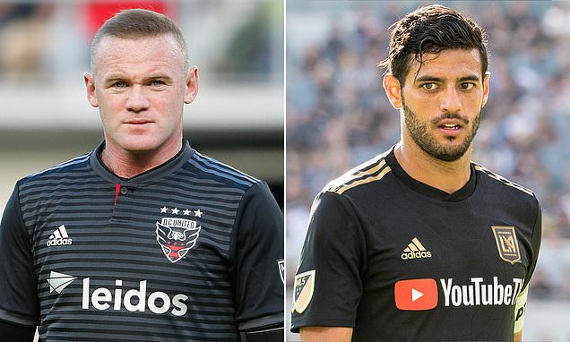 6defd825f wayne rooney boasts the fourth top selling shirt in mls behind former team  mate zlatan ibrahimovic