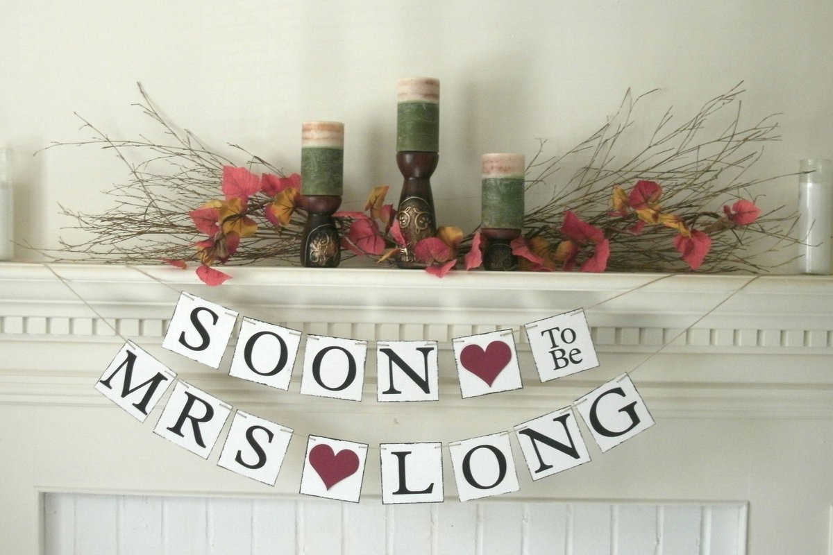 free shipping httpswwwetsycomlisting653104157personalized bridal shower banner soonrefshop_home_active_1