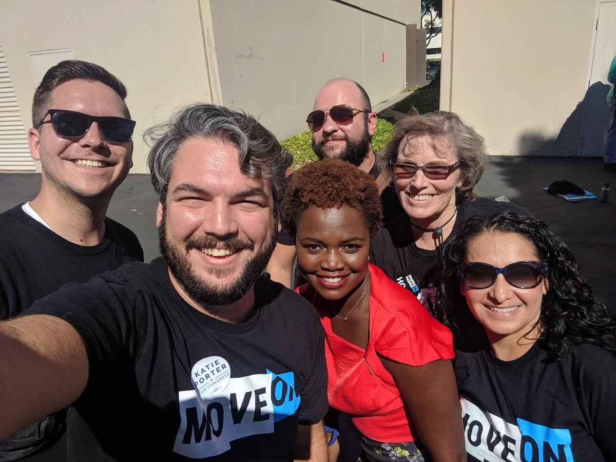 #ResistAndWin Leaders join @K_JeanPierre to #GOTV to end @GOP control of the House on 11/6! Join us: moveon.org/resistandwin