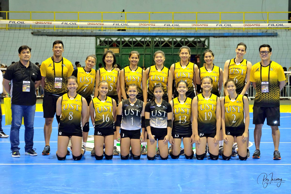 Ust Men S Volleyball On Twitter Tigerannouncement Presenting The Unigames2018 Line Up Of Ust Indoor Women S Volleyball Team Gouste Defendthecrownust Parasauste 23rdunigames 2018unigames Https T Co 46mnpeksss