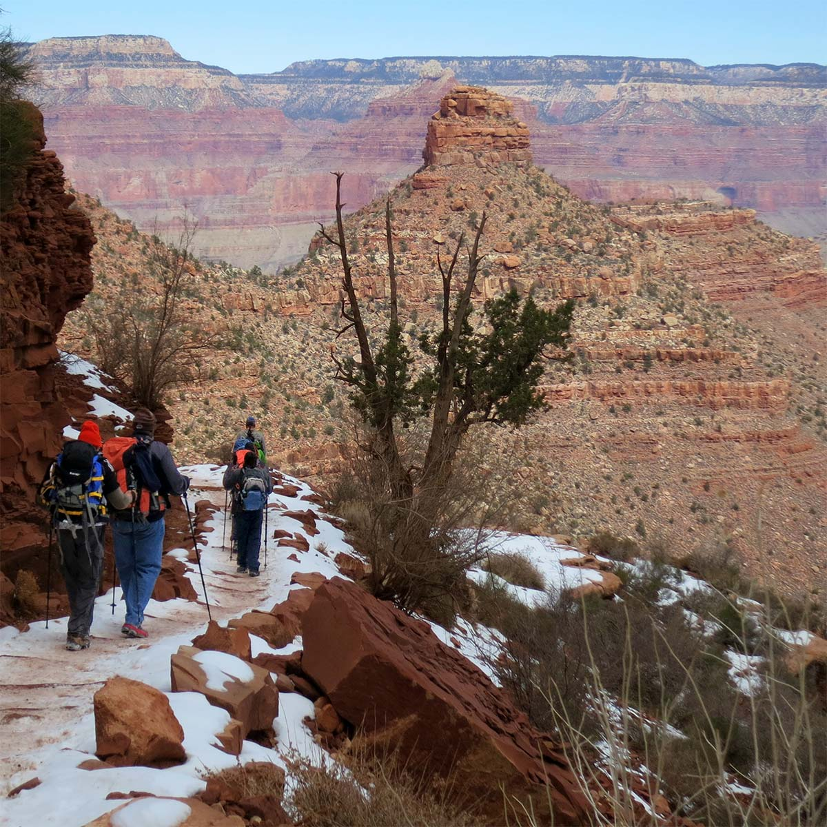 Grand Canyon Nps On Twitter Hiking During The Winter In
